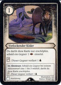 Aventuria Abenteuerspiel-Box: Verlockender Köder Promo Card