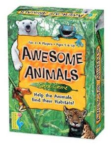 Awesome Animals Card Game