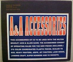 Axis & Allies:  A & A Accessories