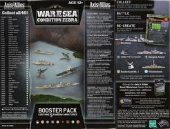Axis & Allies War at Sea: Condition Zebra