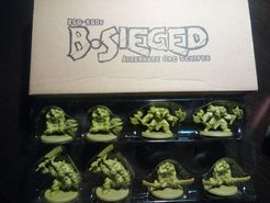 B-Sieged: Darkness & Fury Exclusive Promo Miniatures