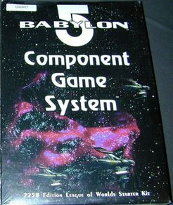 Babylon 5 Component Game System: 2258 Edition League of Worlds Starter Kit