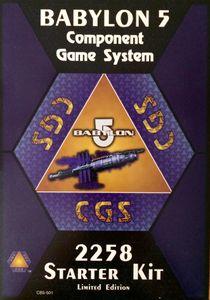 Babylon 5 Component Game System: 2258 Starter Kit – Earth