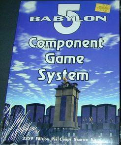 Babylon 5 Component Game System: 2259 Edition Psi Corps Starter Kit