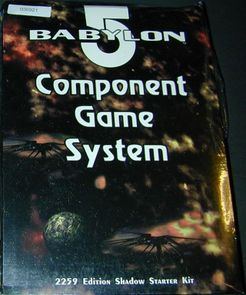 Babylon 5 Component Game System: 2259 Edition Shadow Starter Kit
