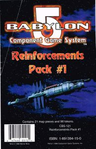 Babylon 5 Component Game System: Reinforcements Pack #1