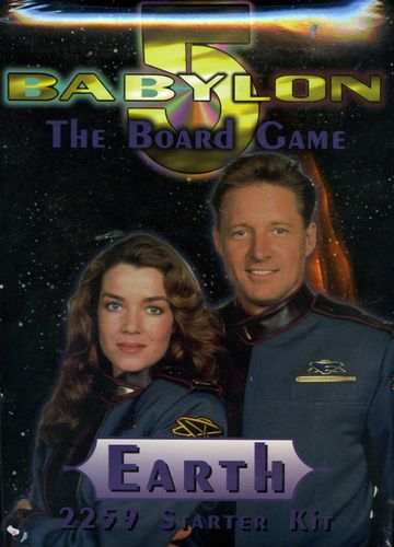 Babylon 5: The Board Game – 2259 Starter Kit – Earth