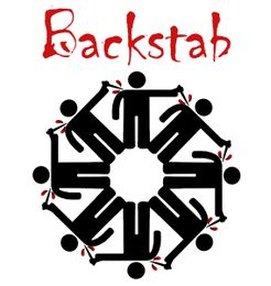 Backstab: A Political and Strategic Live-action Card Game