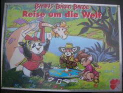 Bambus-Bären-Bande Reise um die Welt