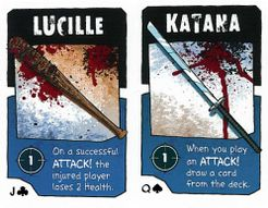 BANG!: The Walking Dead – Lucille & Katana