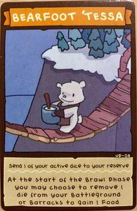 BarBEARian Battlegrounds: Bearfoot 'Tessa Promo Card