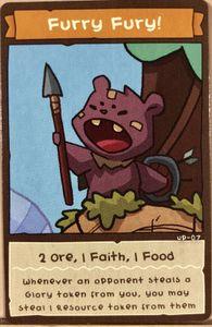 BarBEARian Battlegrounds: Furry Fury! Promo Card