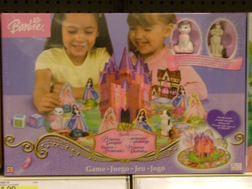 Barbie: The Princess and the Pauper Game