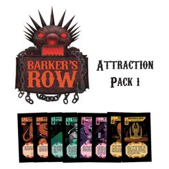 Barker's Row: Attraction Pack #1