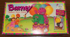 Barney Balloon Race Game