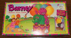 Barney Balloon Race Game