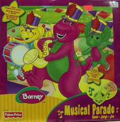 Barney Musical Parade Game