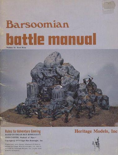 Barsoomian Battle Manual