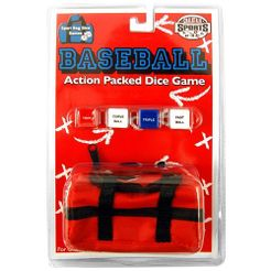 Baseball Action Packed Dice Game