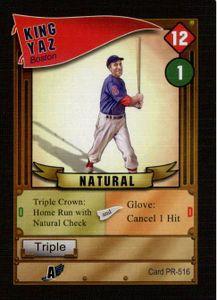 Baseball Highlights: 2045 – King Yaz Promo Card