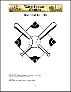 Baseball Outs