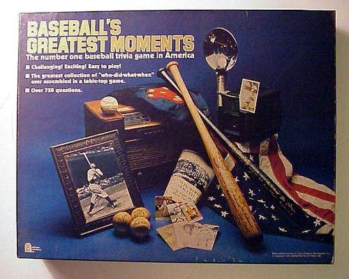 Baseball's Greatest Moments