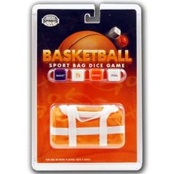 Basketball Sport Bag Dice Game