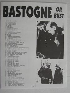 Bastogne or Bust (first edition)