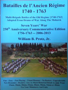 Batailles de L'Ancien Regime 1740-1763