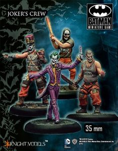 Batman Miniature Game: Joker's Crew