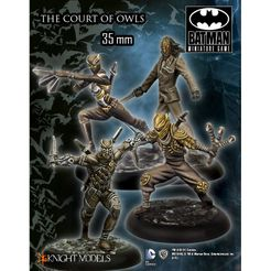 Batman Miniature Game: The Court of Owls Crew Set 1