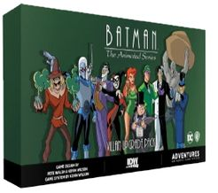 Batman: The Animated Series Adventures – Villain Upgrade Pack Expansion
