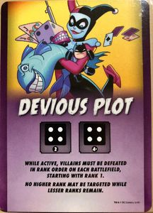 Batman: The Animated Series – Devious Plot Promo Card