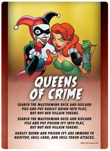 Batman: The Animated Series – Gotham City Under Siege: Queens of Crime Promo Card