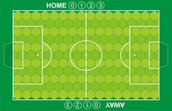 Battle for the Ball: the soccer football tactics boardgame