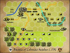 Battle of Lobositz, October 1, 1756