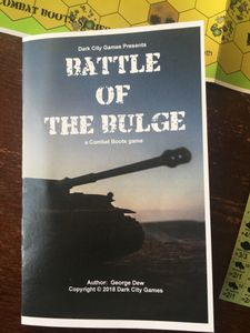 Battle of the Bulge: A Combat Boots Game