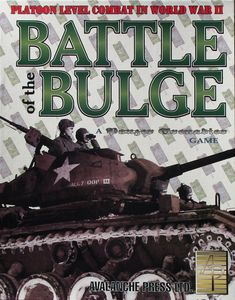 Battle of the Bulge: Platoon Level Combat in World War II – A Panzer Grenadier Game