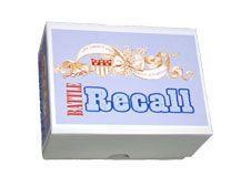 Battle Recall Card Game