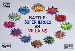 BATTLE: Superheroes vs. Villains