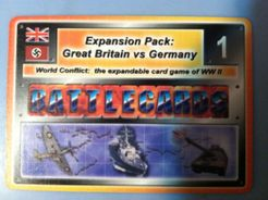 Battlecards: World Conflict – Western European Campaign – Expansion Pack 1