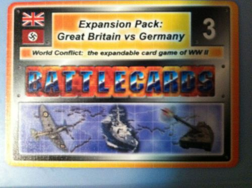 Battlecards: World Conflict – Western European Campaign – Expansion Pack 3