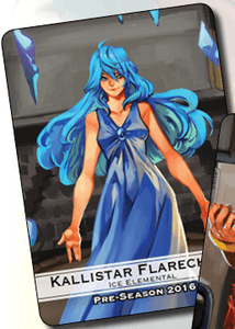 BattleCON: Kallistar Flarechild – Ice Elemental Costume