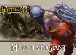 BattleLore (Second Edition): Mountain Giant Reinforcement Pack