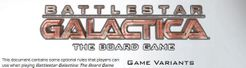 Battlestar Galactica: Official Variant Rules