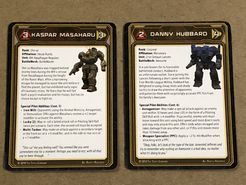 BattleTech: A Game of Armored Combat – New Pilot Cards