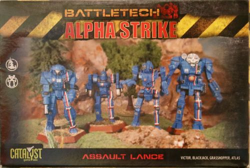 BattleTech Alpha Strike: Assault Lance Pack