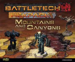 Battletech HexPack: Mountains and Canyons