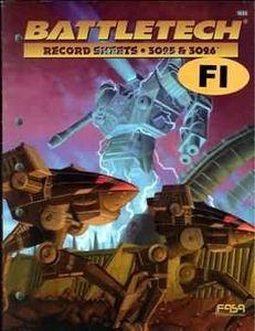 Battletech Record Sheets: 3025 & 3026