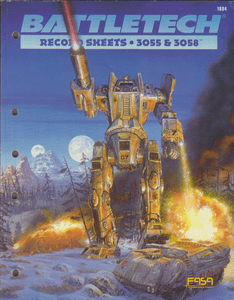 BattleTech Record Sheets: 3055 & 3058